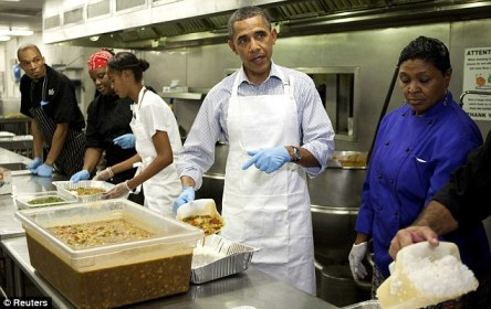obama soup kitchen on 9-11