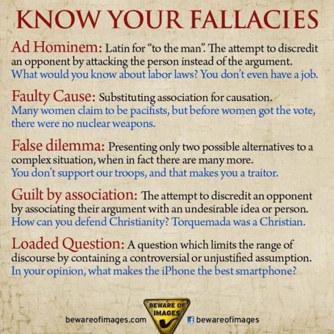 KnowYourFallacies